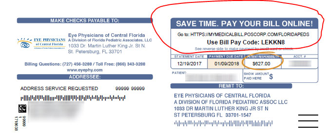 Bill Pay Code example